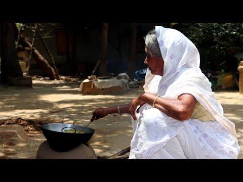 Fresh Nate Shak & Foloi Mach Recipe   Grandma's Healthy Food Recipes   Indian Village Food