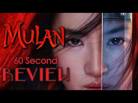 Mulan 60 Second Review (NO Spoilers) | CinemaWins