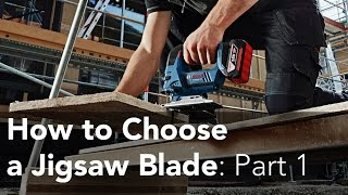 How to Choose a Jigsaw Blade for Clean Straight Cuts