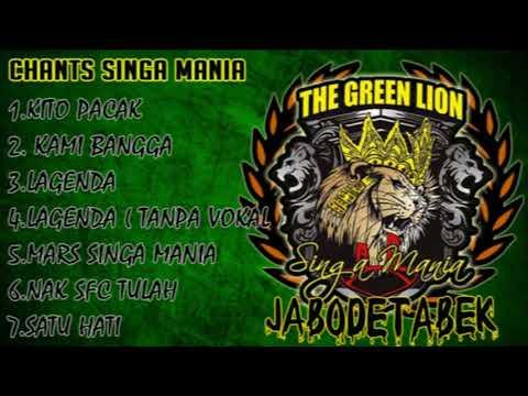 Chants Singa Mania Full Album ( Sriwijaya Fc )
