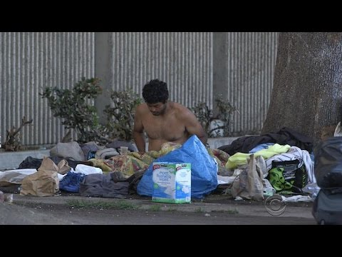 Homelessness declines across America, but is on the rise in California