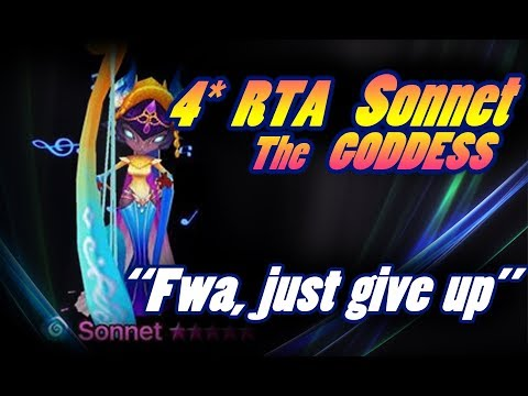 """SUMMONERS WAR - 4* RTA Feat.Sonnet """"Fwa just give up"""""""