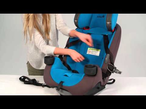 Safety 1st Grow and Go Air™ Series 3-in-1 Convertible Car Seat Rear-facing with Vehicle Belt