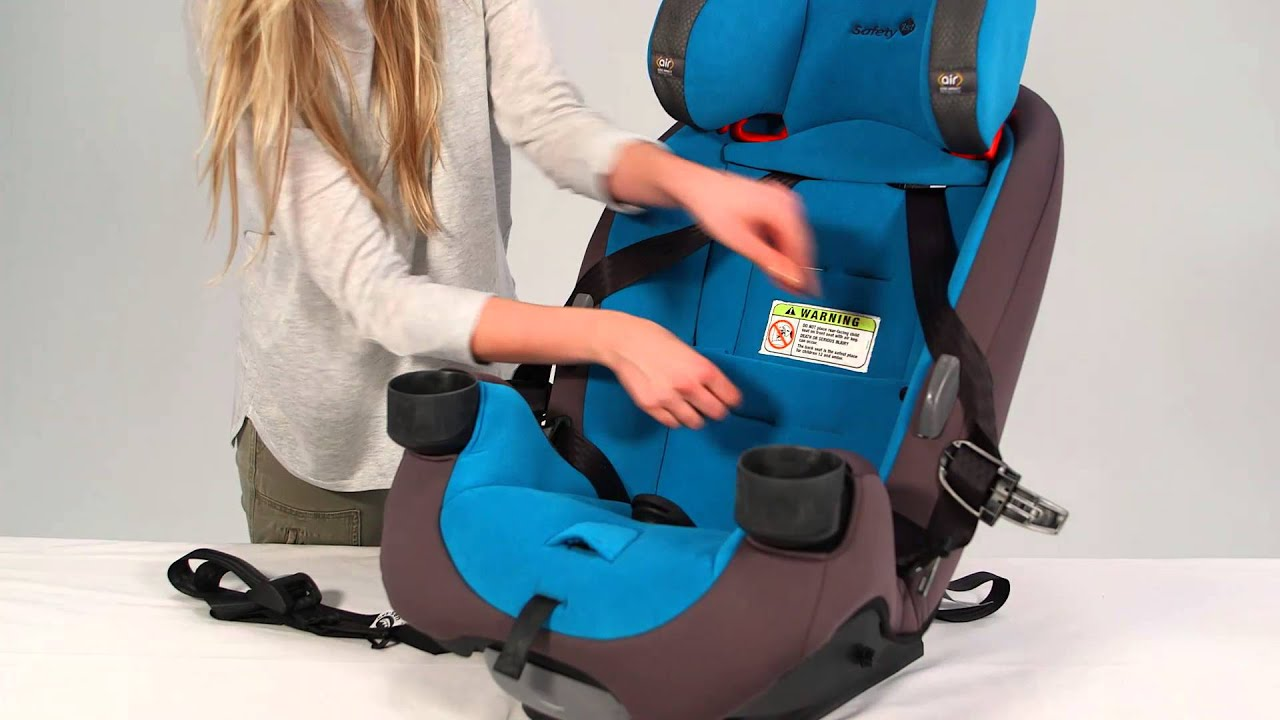 Safety 1st Grow And Go AirTM Series 3 In 1 Convertible Car Seat Rear Facing With Vehicle Belt