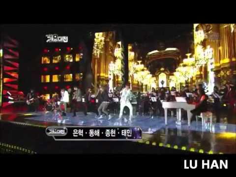 EXO-K/EXO-M Performance at SBS Gayo Daejun 2011