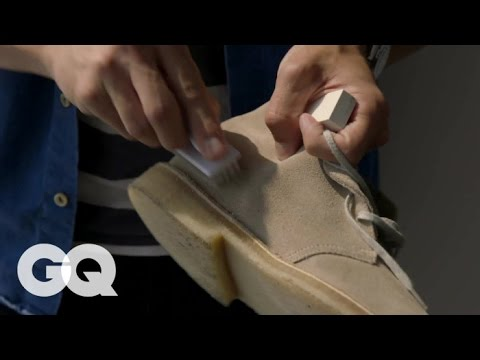 How to Keep Your Suede Shoes Clean