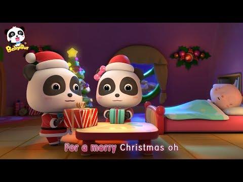 Baby Panda's Surprising Gifts   Christmas Stockings   Christmas Song   BabyBus