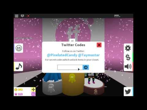 Roblox Codes For Fashion Famous Fashion Famous 13 Twitter Codes Working Youtube
