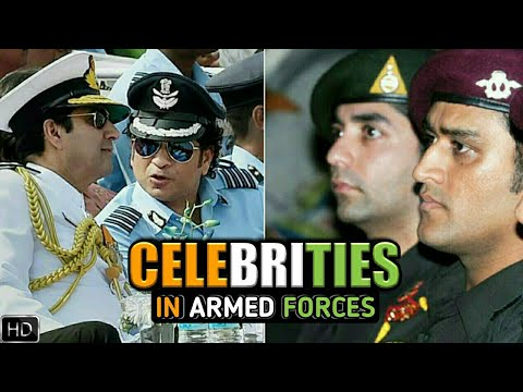 7 Celebrities Who Are In Indian Armed Forces (Hindi)