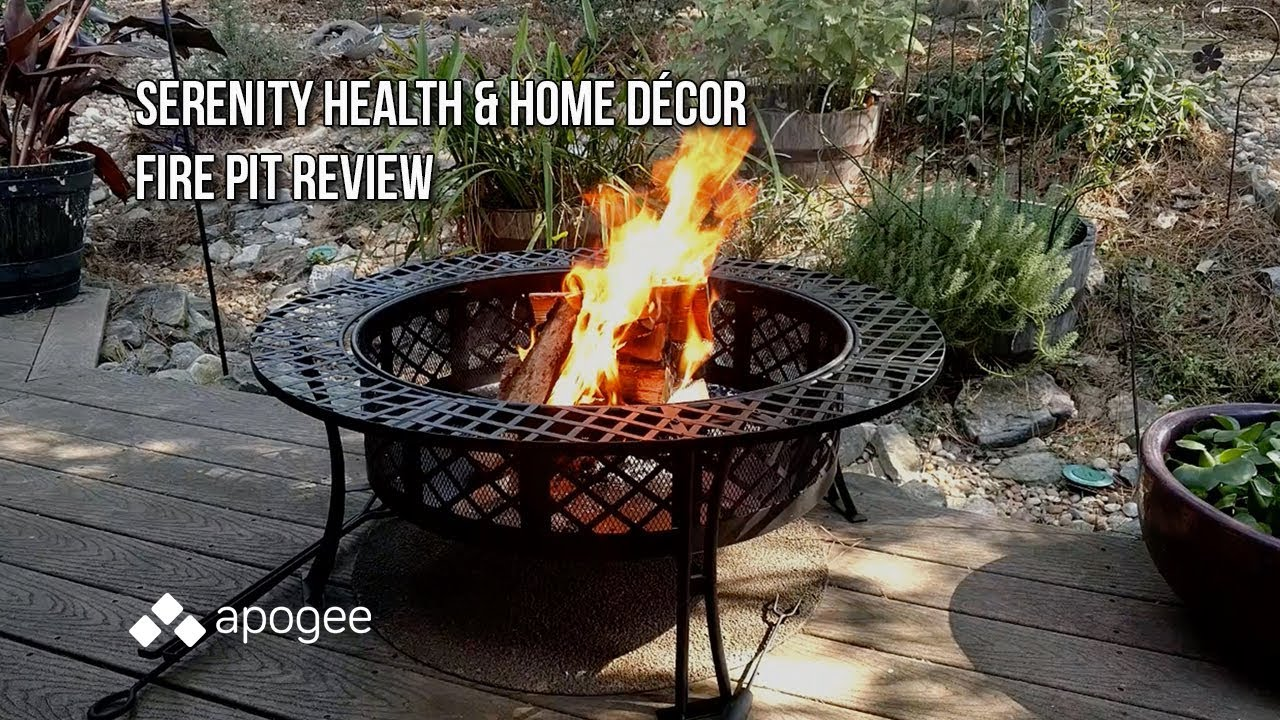Serenity Health And Home Decor Fire Pit