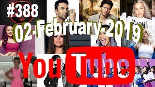 Today S Most Viewed Music Videos On Youtube 02 February 2019 388