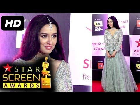 Gorgeous Shraddha Kapoor At Star Screen Awards 2018 | Red Carpet
