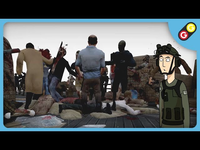 ON DECHIQUETTE DU ZOMBIE ! (No More Room in Hell) [FR]