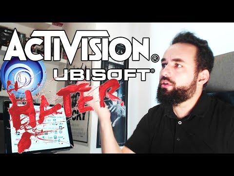 ODIO a Ubisoft, Activision y otras empresas de videojuegos