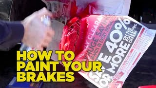 How to paint your brake calipers DIY