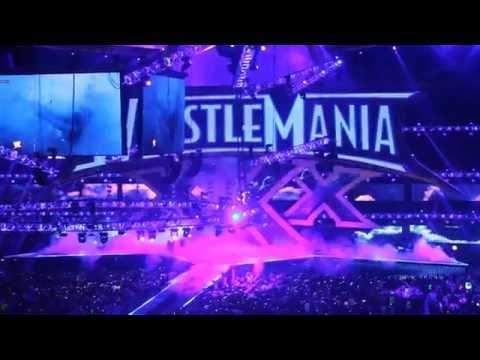 WrestleMania XXX: The Undertaker Live Entrance