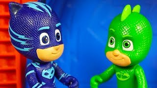 PJ Masks Creations | The PJ Masks Save the Day! | PJ Masks Toy Play | Cartoons for Kids thumbnail