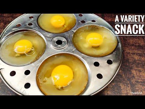 New Style Egg Recipe | Unique Snacks | Egg Snack Recipe | Egg Idli Recipe |