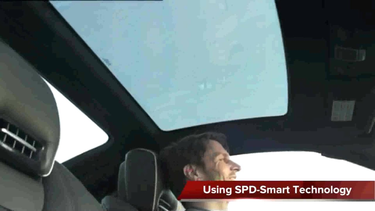 Mercedes Benz Sl Magic Sky Control Using Spd Smartglass