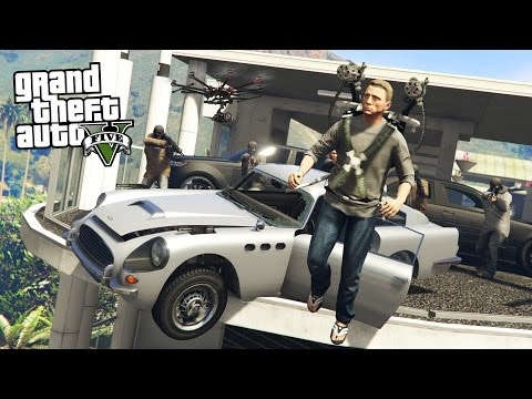 SECRET AGENT SPY!! (GTA 5 Mods)