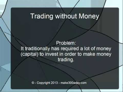 Make moeny trading options without trading