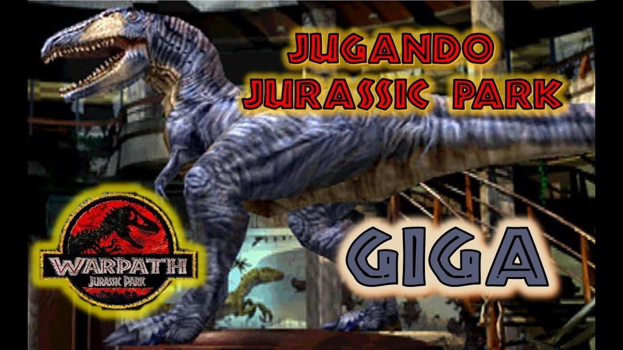 warpath jurassic park arcade episodio 2 giganotosaurus