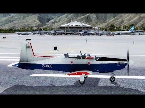 IRIS Pilatus PC-9/A from Twentynine Palms KTNP to Palm Springs International KPSP