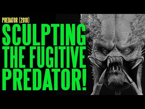 PREDATOR Sculpting The Fugitive Predator ADI BTS