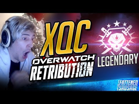 XQC TRIES NEW EVENT ON LEGENDARY AND GETS DESTROYED! - Overwatch Retribution Event [Archives]