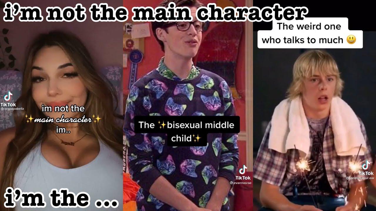 i'm not the main character, i'm the ...~tik tok