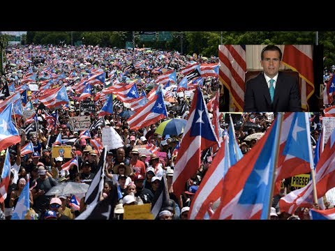 Puerto Rico Governor's Resignation 'A Landmark' in Island's History