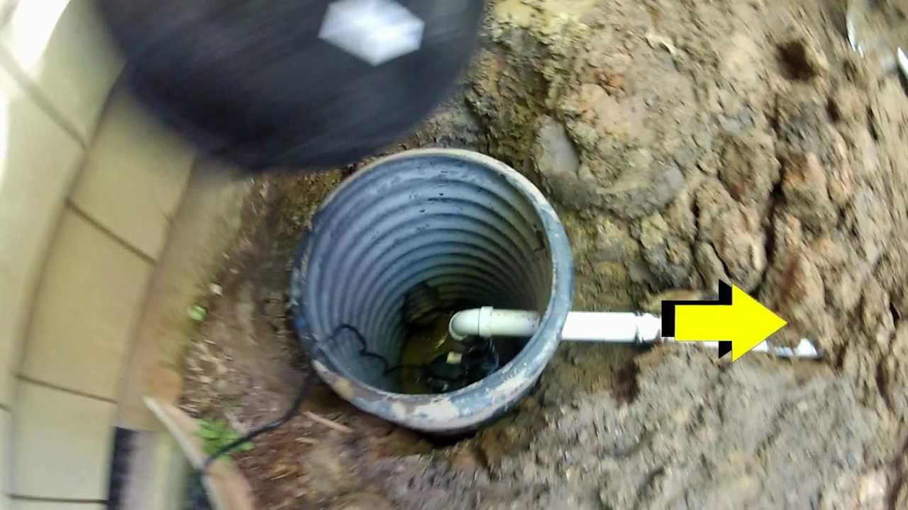 How To Install A Sump Pump Outside Tcworks Org