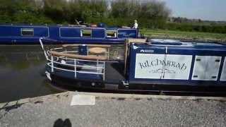 SOLD - Kilgharrah - 65ft Hybrid powered narrowboat
