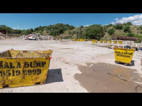 Cleaning up the Alexandria landfill site