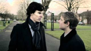 "John/Sherlock - ""Ёжик и Медвежонок"" - ""Teddy and Hedgeling"" (with english subtitles)"
