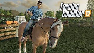 Farming Simulator 19 | DOMANDO CAVALOS! #14
