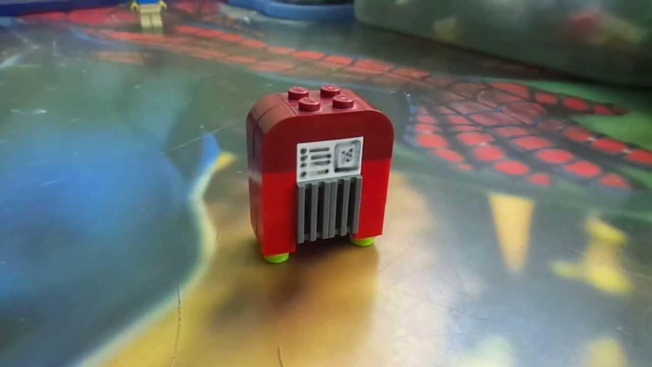 Como Hacer Una Sala De Estar Lego ~ Como hacer una rockola Lego (Mr P)  YouTube