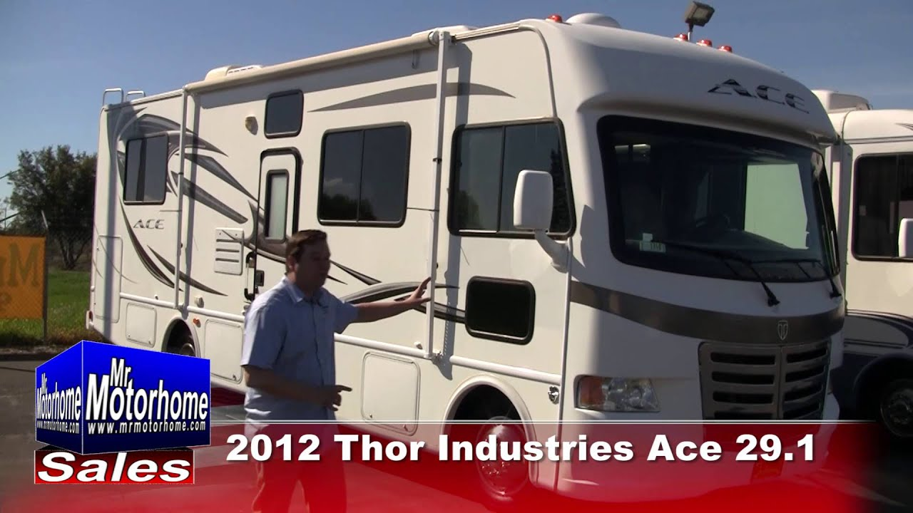 Mr Motorhome 2012 Thor Industries Ace 29 1 preowned class a #1350  Sacramento Ca