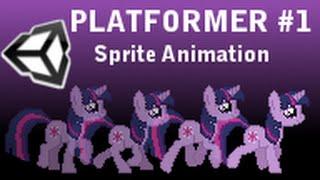 [Unity3D] Создание 2D платформера #1 (Спрайтовая анимация)