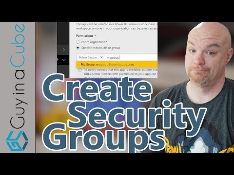 Create Mail enabled security groups to use in Power BI via PowerShell