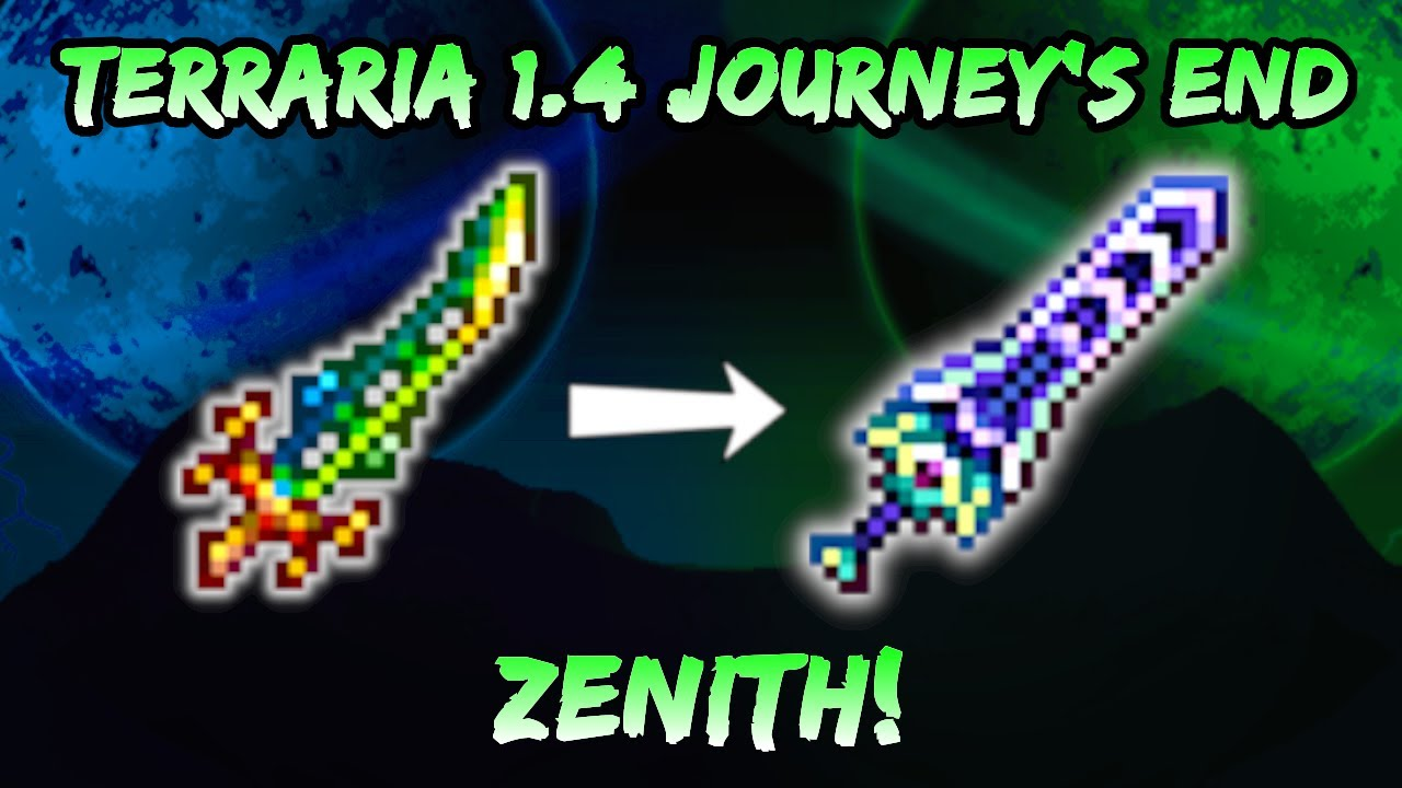 Terraria: How to Get the Zenith Sword