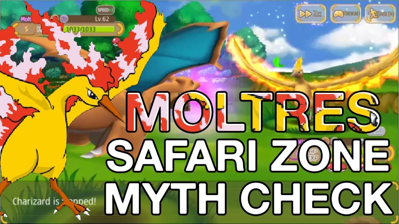 Mythcheck: 5 Scanner Moltres Spawn!?! Hey Monster - YouTube