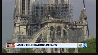 Paris celebrates Easter without Notre Dame