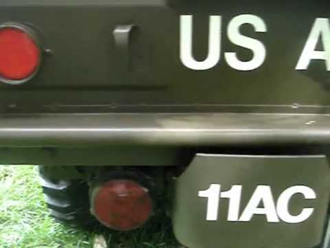 1953 Dodge M37 Weapons Carrier Long Serving Military Vehicle