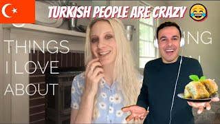 Italian Reaction To 5 Things I Love About Turkey