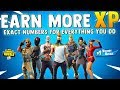 HOW TO EARN MORE XP & LEVEL UP FAST - Fortnite Battle Royale XP Explained