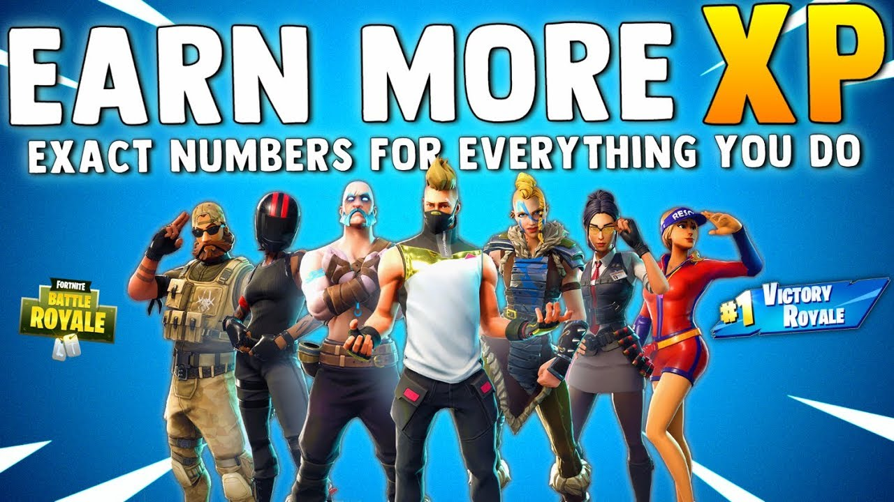 how to get more xp in fortnite