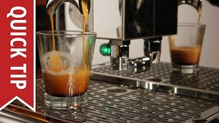 Espresso Technique Basics: How to Dial in Shots