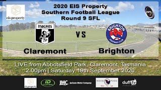 Claremont v Brighton | SFL Round 9