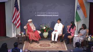 Sadhguru at Harvard I India Conference 2019